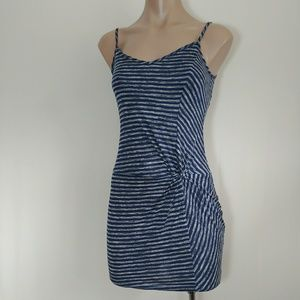 Love ,. Fire Striped Unique Tank Dress